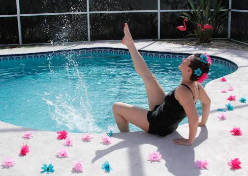 AQUAdance by Voci Dance_Sarah Lockard_one leg kick
